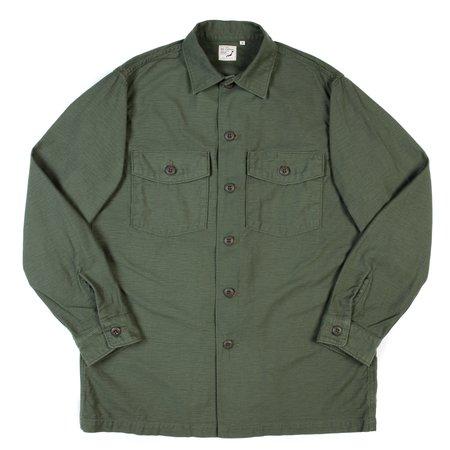 orSlow U.S. Army Shirt - Used Green