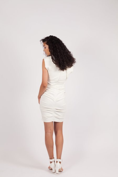 Ronny Kobo Adena Mini Dress - IVORY