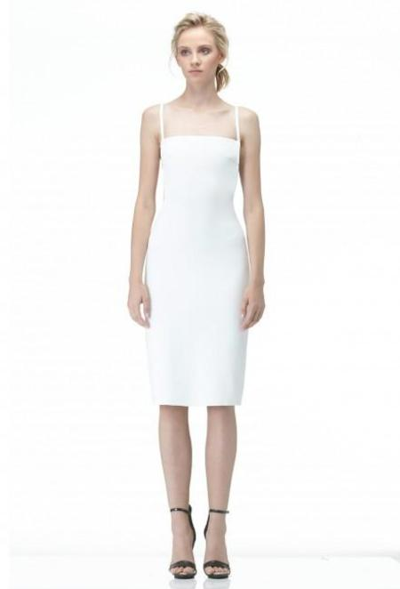 AQ/AQ Maier Knee Length Dress - CREAM
