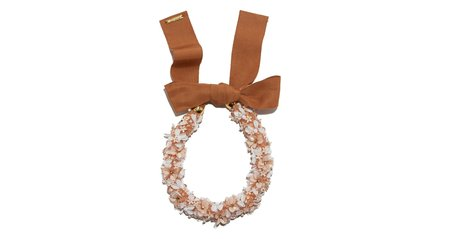Lizzie Fortunato Flower Collar Necklace