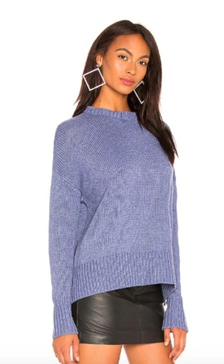 John + Jenn PHILIP C-NECK Sweater - Blue
