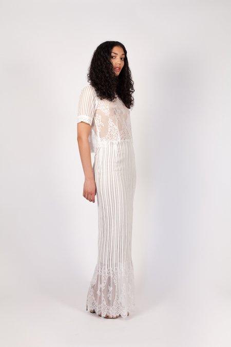 Stone Cold Fox Rossario Skirt - WHITE