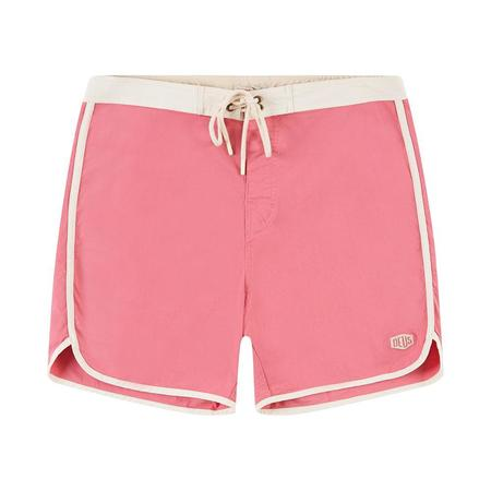 Deus Scallop Boardshort - Rap Rose