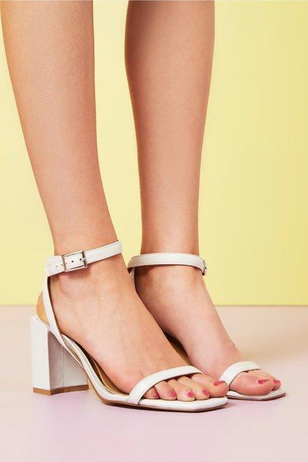 Jaggar Squared Heel - Marshmallow