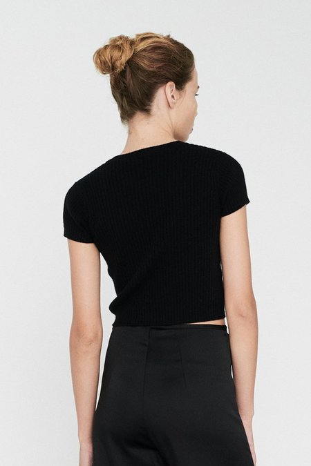 Georgia Alice Little Knit Tee - Black