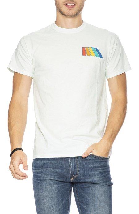 Free & Easy Natural Rainbow T-Shirt