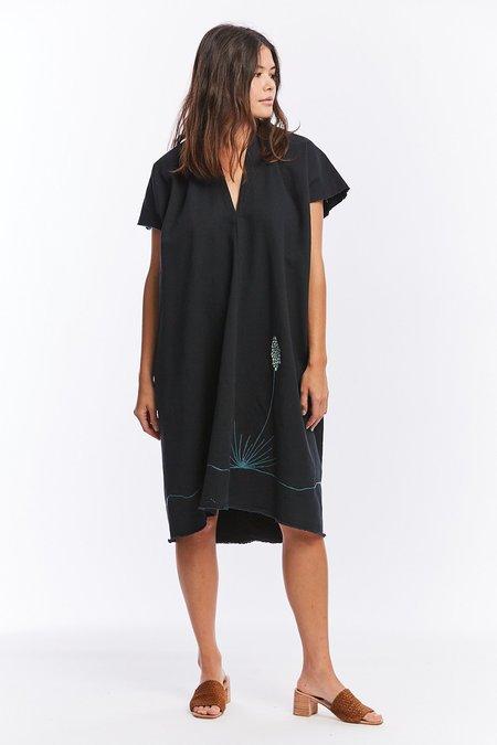 Miranda Bennett Studio, LLC MBS x Ft. Lonesome Denim Everyday Dress - Almost Black