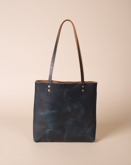 Wood&Faulk Daily Tote Bag - Navy