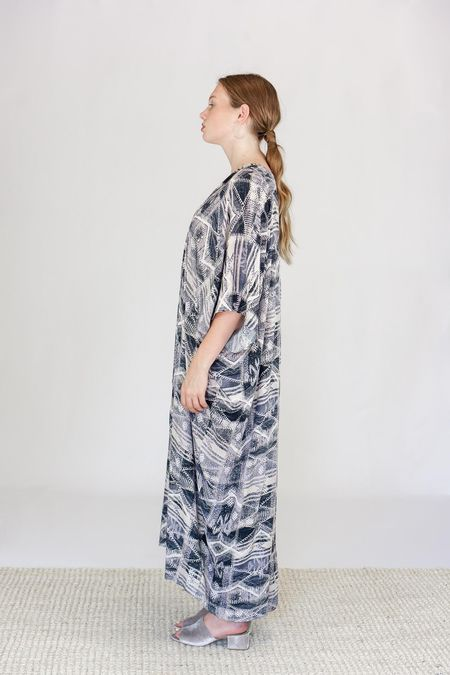 Tysa Dali Maxi Dress - Snow Cap