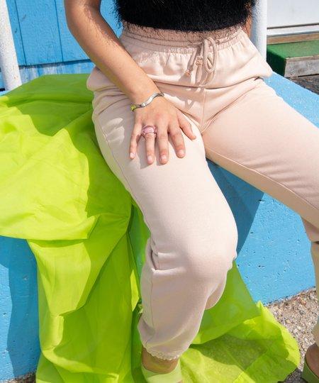 Baserange Sweat Pants - Nude