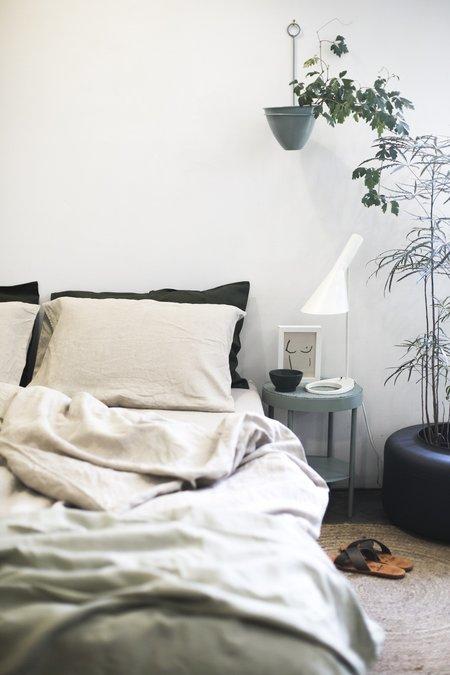 Good Studios Hemp Linen Bedding - Oatmeal