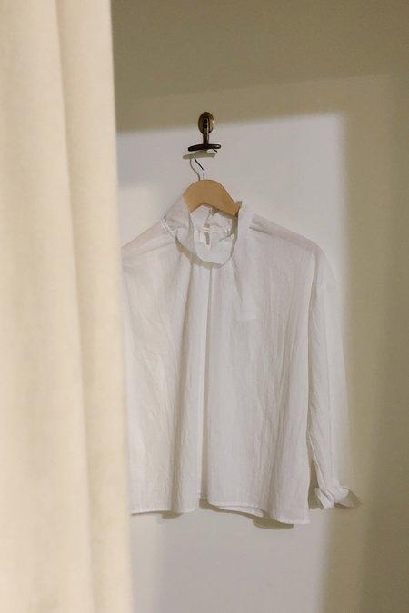 Samuji Fenella Poplin Shirt - Ecru