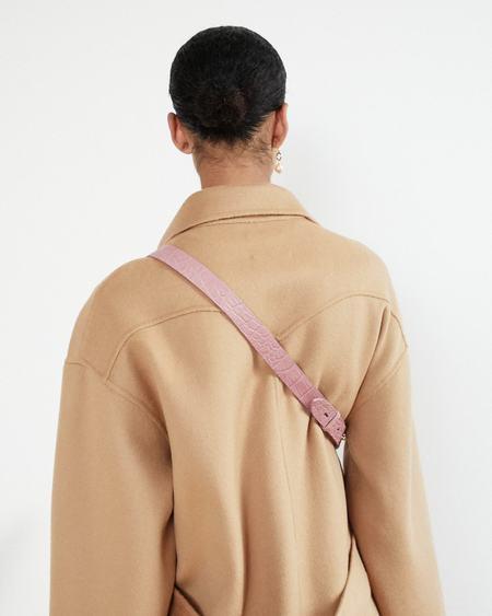 Nanushka LUBO Belt bag - Woodrose