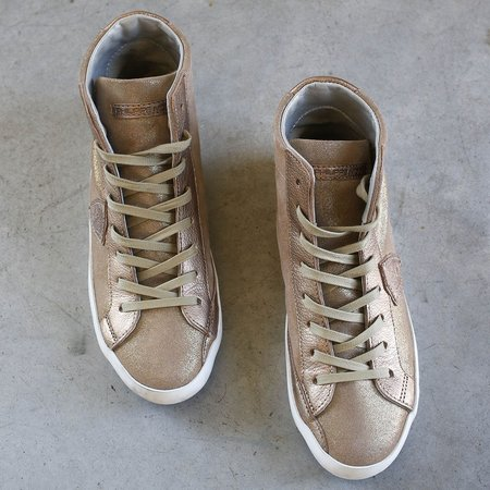 Philippe Model Paris HD Mixage Sneakers - Argent Glitter