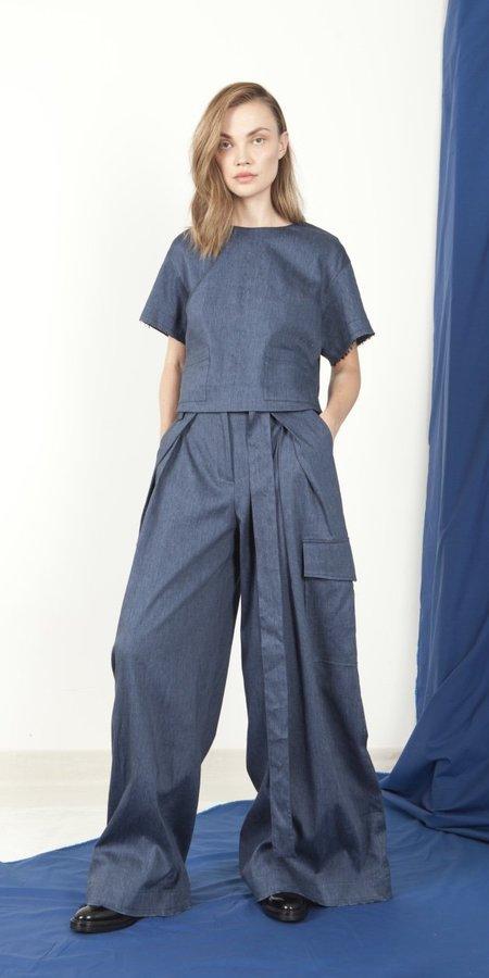 Schai Magnum Belted Trouser