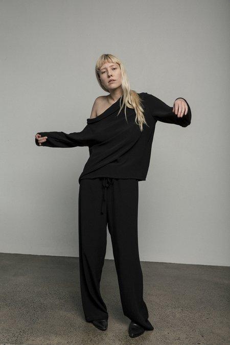 Mina Studio Pant - BLACK