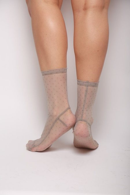 darner Mesh Socks - Mini Dots