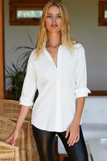 Emerson Fry Button Front Shirt - White