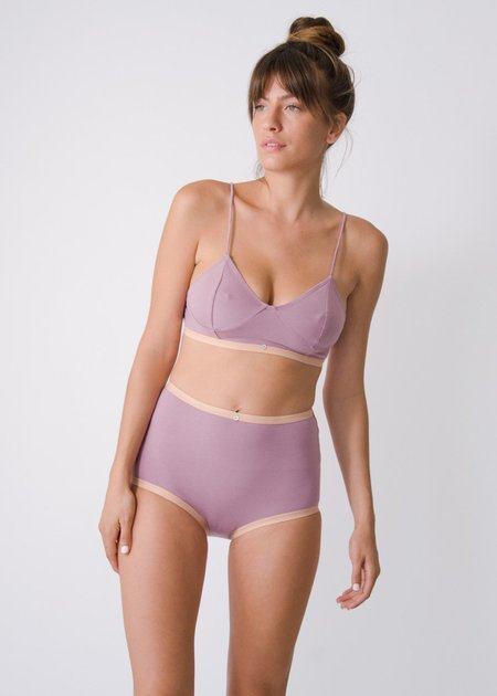 Botanica Workshop Astra Hi-Waist Brief - Amethyst