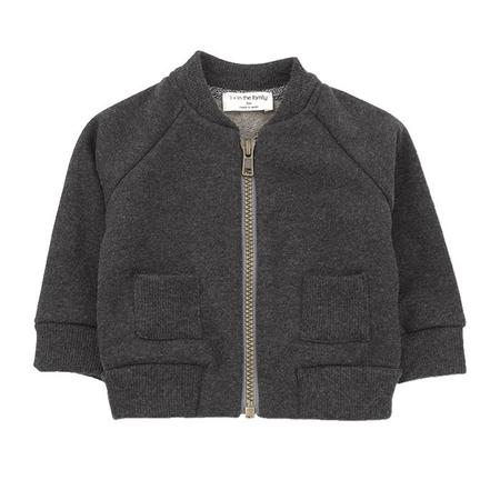 KIDS 1+ In The Family Baby And Child Robin Jacket - Anthracite Grey