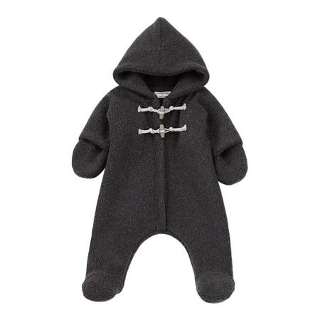 KIDS 1+ In The Family Baby Andre Snowsuit - Anthracite Grey