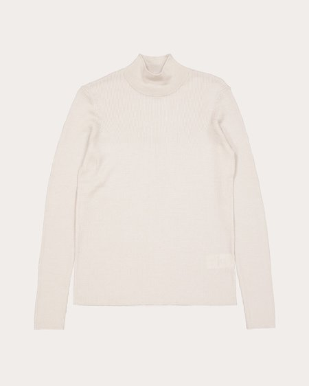 Won Hundred Aleena Roll Neck - Creamy Cloud