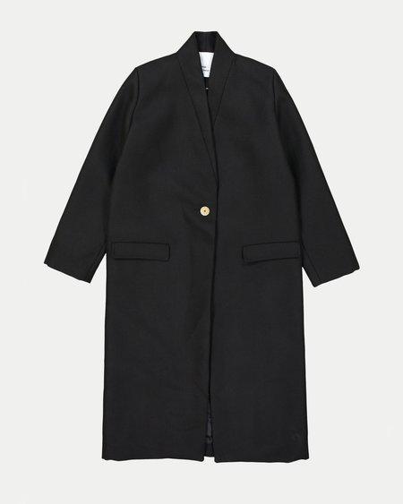 Won Hundred Estelle Wool Coat - Black