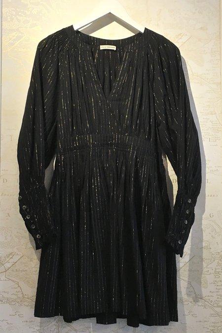 Ulla Johnson Ror Cotton Blend Lurex Dress - Stripe