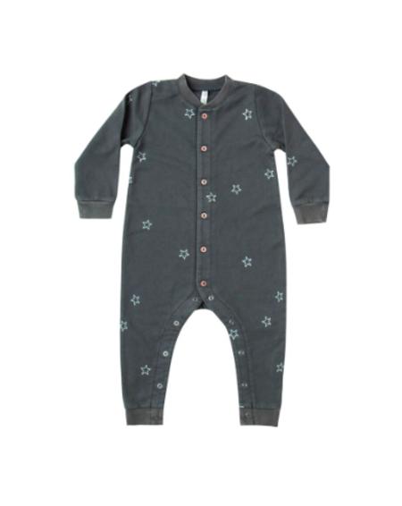 Kids Rylee & Cru Star Embroidered Long John