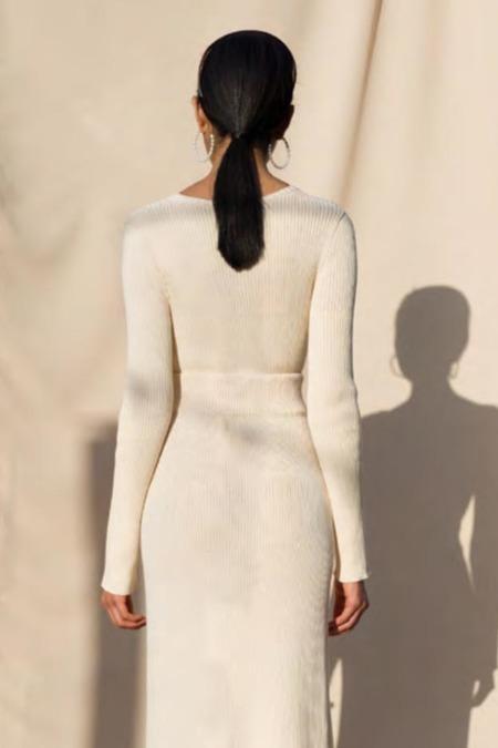 Pari Desai Dani Ribbed Sweater - CREAM