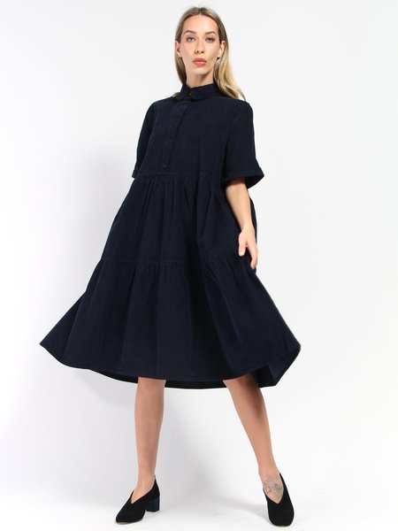 Henrik Vibskov Cake Dress - Deep Blue