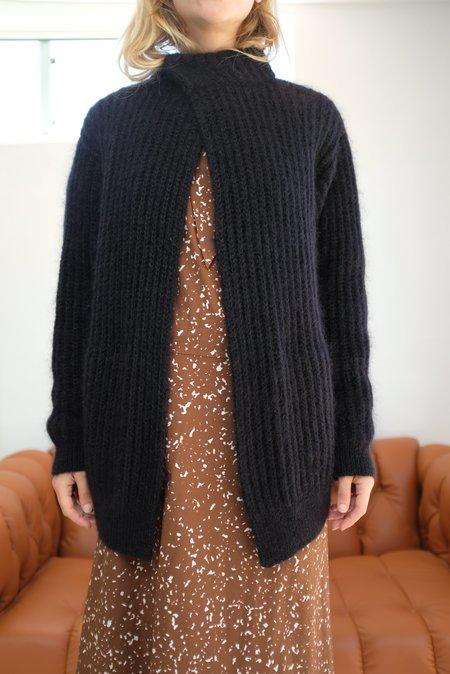 UNISEX Reality Studio Iris Knit Jacket - Black