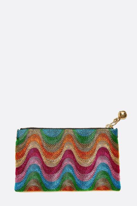 Anne Grand-Clément Extra Small Pouch - Multicolor Splash