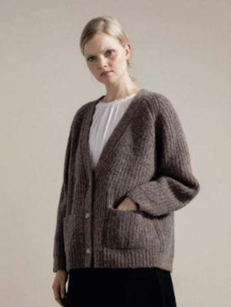 Hansel from Basel- Darling Cardigan - Llama