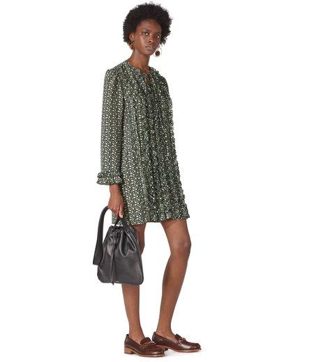 A.P.C. Rosalia Dress - Vert