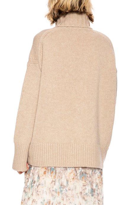 Tomorrowland Turtle Neck Sweater - Sand