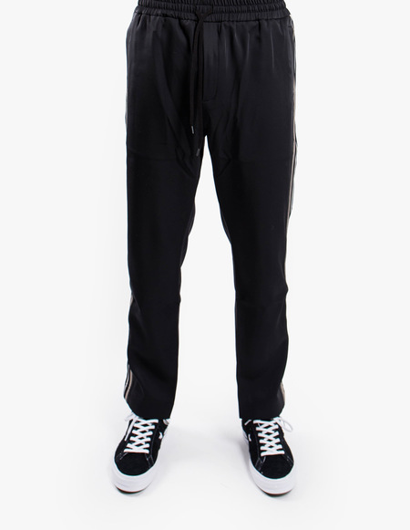 CMMN SWDN Buck Track Pants - Black/Grey