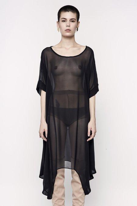 Jason Lingard Crow Silk Dress