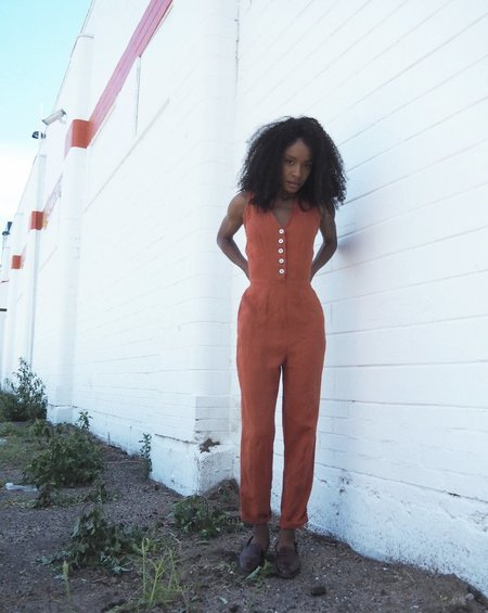 frnds of ours Ameel Jumpsuit N. 10 - RUST
