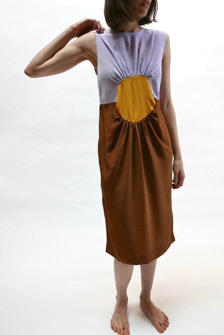 Carleen Nancy Dress - Purple Mountain
