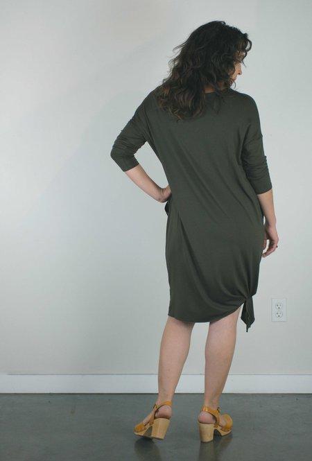 Sarah Liller Odette Dress - Olive