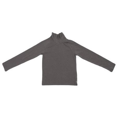 KIDS Tambere Child Long Sleeved Turtleneck T-shirt - Khaki Grey