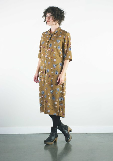 Dagg & Stacey Heron Dress - Toffee Floral Print