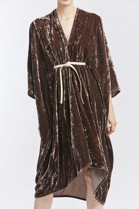Miranda Bennett Velvet O'Keeffe Dress - Abiquiu