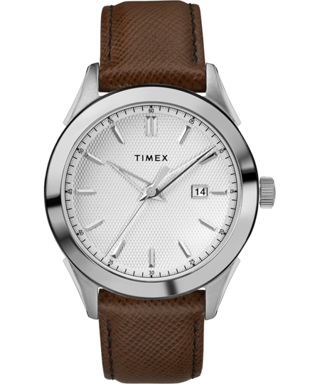 Timex Archive Torrington Date 40mm Watch - Brown