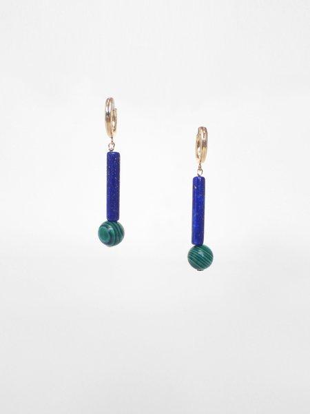 IGWT Torus Hoop Earrings - Gold Filled