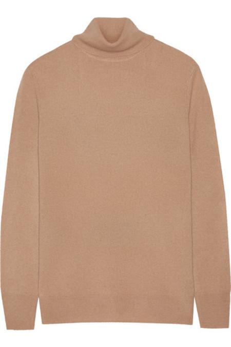 Equipment Oscar Turtleneck Sweater - Camel