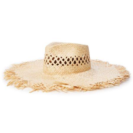 Brixton Joanna Fringe Hat - Natural