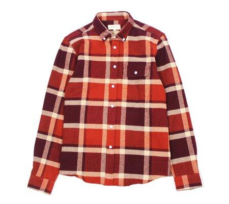 Far Afield Larry L/S Flannel Shirt - Wilson Check