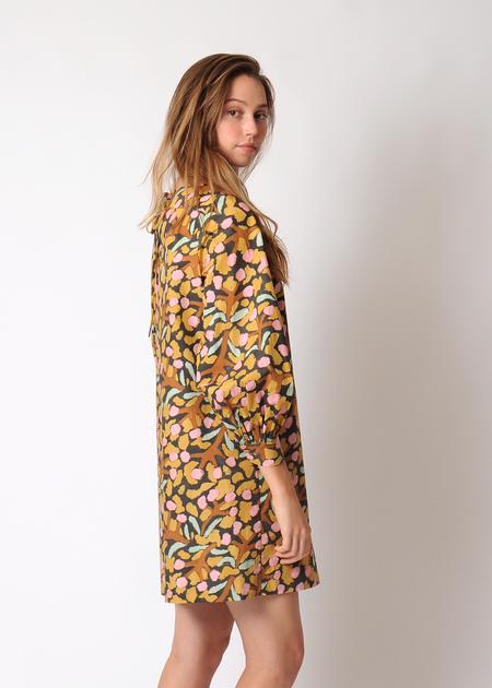 Whit Jude Dress - Mustard